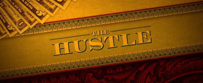 'The Hustle' opening titles featured on Creative Planet Network