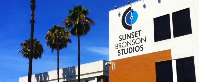 Starting the day at Sunset Bronson Studios