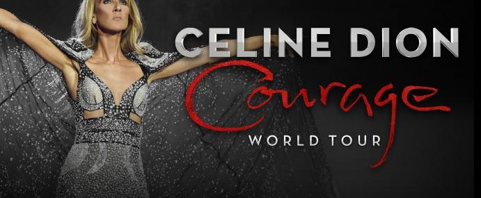 CÉLINE DION: COURAGE WORLD TOUR
